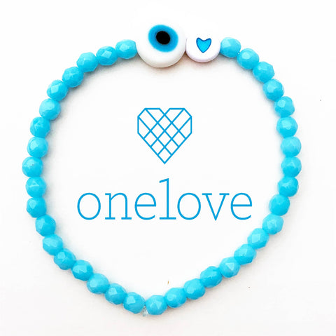 One Love Bracelet - Handmade in USA