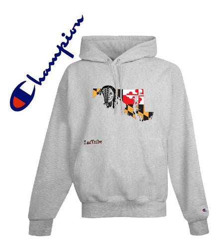 "Champion Brand ""Maryland"" design 12oz Hoodie"
