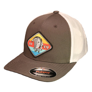 "Hat - FLEXFIT ""Sunset"" Patch Mesh Trucker"