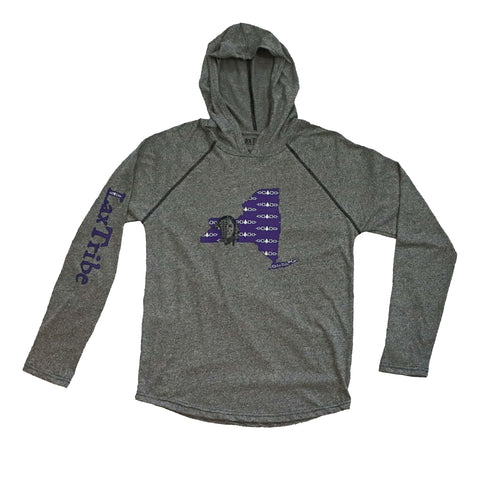 "Light Hoodie - ""New York"" design"