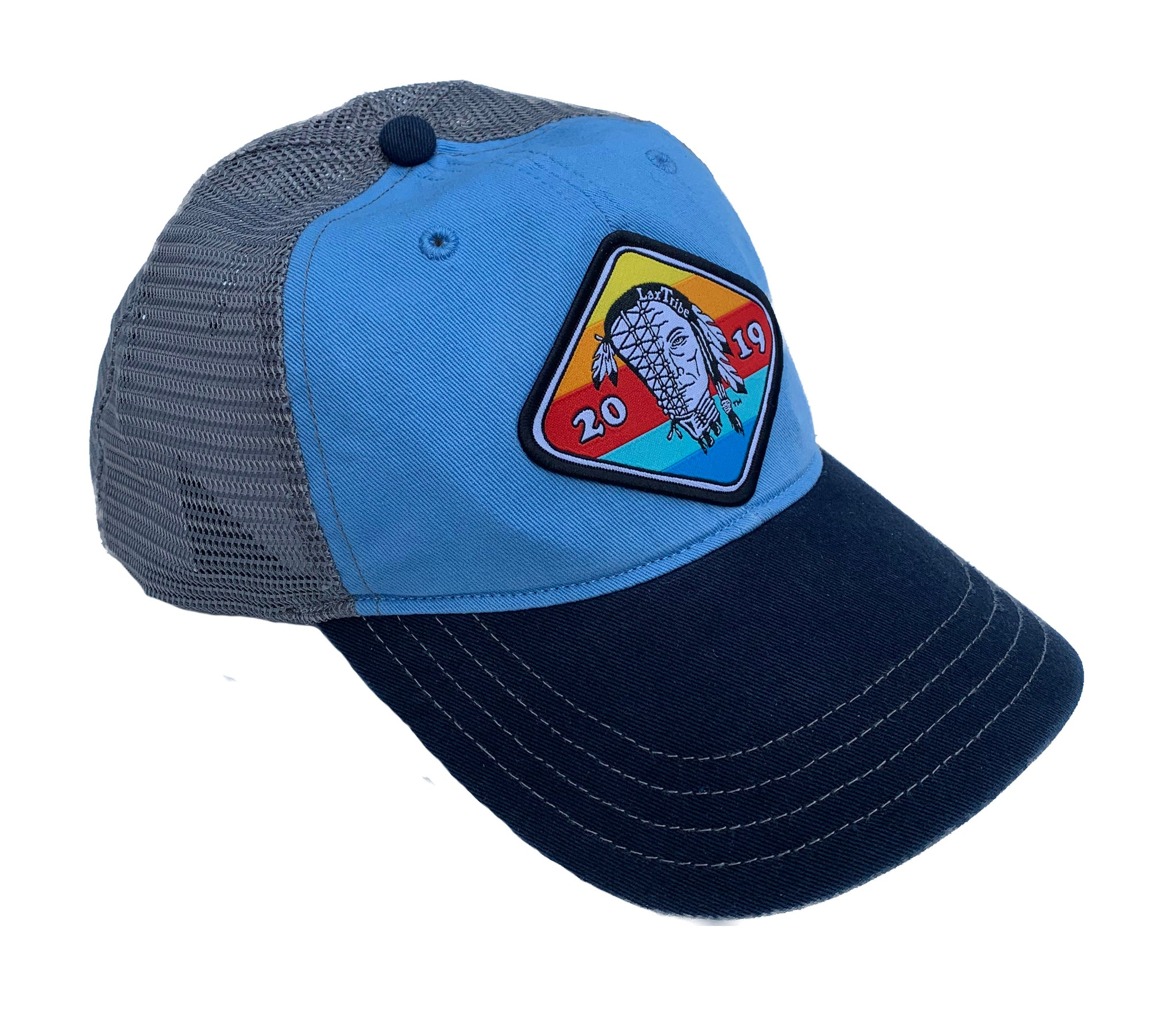 "Hat - Richardson's R111 - ""Sunset"" Patch Washed Trucker"
