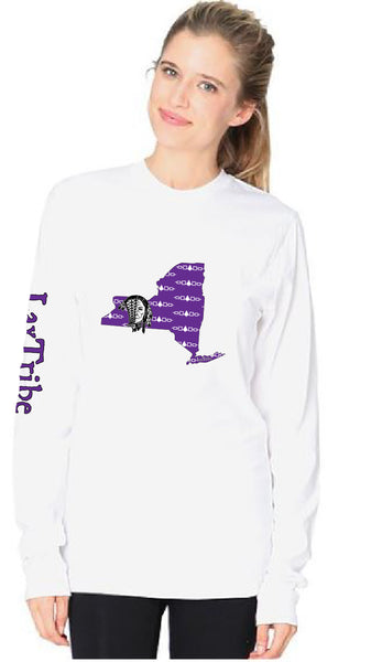 "T's - Long Sleeve Unisex - ""New York"" design - 100% Cotton - Made in USA"
