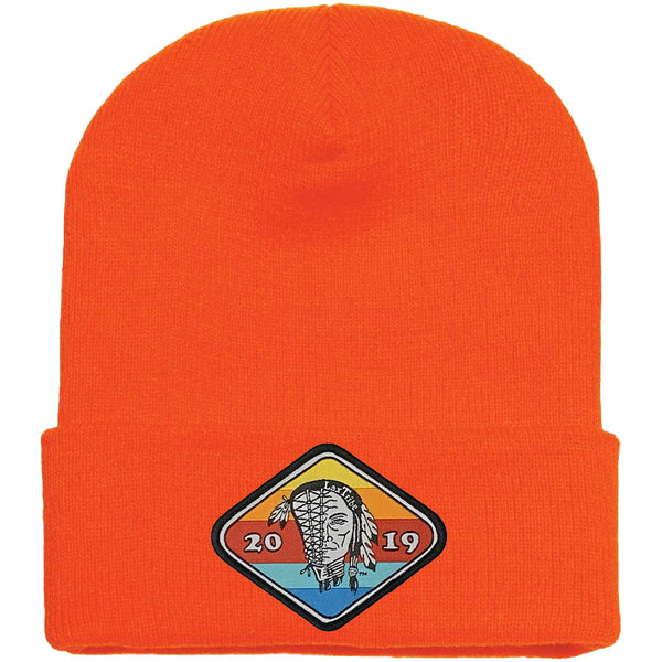 "Hat - ""Sunset"" Patch Cuffed Winter Beanies"