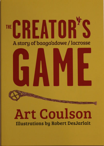 Books - The Creator's Game by Art Coulson (Children's Book)