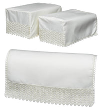 Load image into Gallery viewer, http://images.esellerpro.com/2278/I/190/427/9530-non-slip-lace-trim-square-armcaps-chair-back-cream.jpg