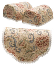 Load image into Gallery viewer, http://images.esellerpro.com/2278/I/150/260/9700-pink-flower-tapestry-round-arm-caps-chair-back-napery-beige.jpg