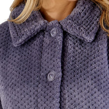 Load image into Gallery viewer, http://images.esellerpro.com/2278/I/183/394/BJ4325-slenderella-ladies-waffle-bed-jacket-grey-close-up-1.jpg