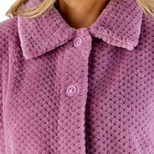 Load image into Gallery viewer, http://images.esellerpro.com/2278/I/183/394/BJ4325-slenderella-ladies-waffle-bed-jacket-heather-close-up-1.jpg