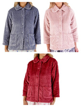 Load image into Gallery viewer, http://images.esellerpro.com/2278/I/197/807/BJ66315-slenderella-chevron-pattern-bed-jacket-group-image.jpg