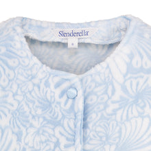 Load image into Gallery viewer, http://images.esellerpro.com/2278/I/138/064/BJ7305-slenderella-ladies-womens-floral-jacquard-bed-jacket-blue-close-up-1.jpg