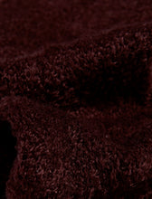 Load image into Gallery viewer, http://images.esellerpro.com/2278/I/131/358/BS165-slenderella-ladies-soft-fleece-plain-bed-socks-chocolate-brown-close-up.jpg