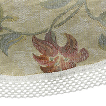 Load image into Gallery viewer, http://images.esellerpro.com/2278/I/151/483/FW421-tropicana-napery-floral-lattice-trim-chair-back-close-up.jpg