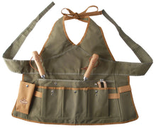 Load image into Gallery viewer, http://images.esellerpro.com/2278/I/143/802/GT49-khaki-green-lady-garden-apron-pockets-adjustable-1.jpg