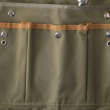 Load image into Gallery viewer, http://images.esellerpro.com/2278/I/143/802/GT49-khaki-green-lady-garden-apron-pockets-adjustable-close-up-1.jpg