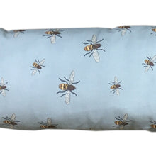 Load image into Gallery viewer, http://images.esellerpro.com/2278/I/200/997/bees-cotton-draught-excluder-blue-close-up.JPG