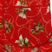 Load image into Gallery viewer, http://images.esellerpro.com/2278/I/133/771/holly-bow-red-christmas-xmas-festive-apron-close-up-1.jpg