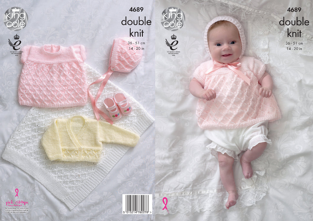 http://images.esellerpro.com/2278/I/129/803/king-cole-4-ply-4ply-knitting-pattern-baby-angel-top-cardigan-bonnet-blanket-4689.jpg