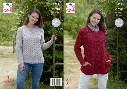 http://images.esellerpro.com/2278/I/170/475/king-cole-aran-knitting-pattern-ladies-sweater-jacket-5298.jpg