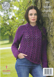 http://images.esellerpro.com/2278/I/120/045/king-cole-big-value-super-chunky-knitting-pattern-ladies-lace-effect-cardigan-sweater-4361-back.jpg