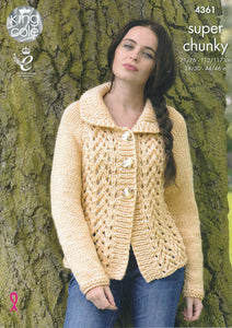 http://images.esellerpro.com/2278/I/120/045/king-cole-big-value-super-chunky-knitting-pattern-ladies-lace-effect-cardigan-sweater-4361-front.jpg