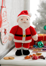 Load image into Gallery viewer, http://images.esellerpro.com/2278/I/130/153/king-cole-christmas-crochet-book-2-father-christmas-toy.jpg