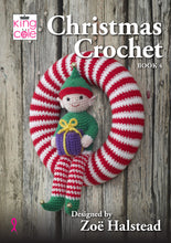 Load image into Gallery viewer, http://images.esellerpro.com/2278/I/159/923/king-cole-christmas-crochet-book-4-four-1.jpg