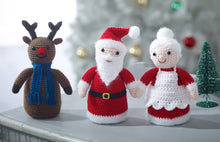 Load image into Gallery viewer, http://images.esellerpro.com/2278/I/159/923/king-cole-christmas-crochet-book-4-four-7.jpg