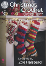 Load image into Gallery viewer, http://images.esellerpro.com/2278/I/119/105/king-cole-christmas-xmas-crochet-book-1-front.jpg