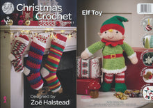 Load image into Gallery viewer, http://images.esellerpro.com/2278/I/119/105/king-cole-christmas-xmas-crochet-book-1.jpg