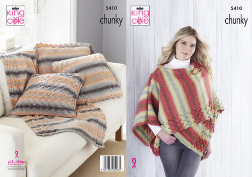http://images.esellerpro.com/2278/I/174/582/king-cole-chunky-knitting-pattern-wrap-throw-cushion-cover-5410.jpg