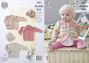 http://images.esellerpro.com/2278/I/146/928/king-cole-double-knit-knitting-pattern-baby-blanket-sweater-cardigans-hat-5082.jpg