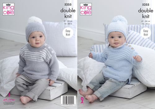 http://images.esellerpro.com/2278/I/159/773/king-cole-double-knit-knitting-pattern-baby-sweaters-hats-5255.jpg