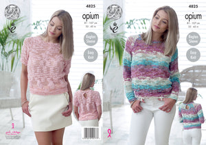 http://images.esellerpro.com/2278/I/136/650/king-cole-ladies-womens-opium-knitting-pattern-short-long-sleeved-sweaters-4825.jpg