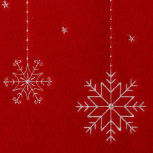Load image into Gallery viewer, http://images.esellerpro.com/2278/I/122/507/merry-christmas-felt-snowflake-xmas-tree-placemat-close-up-2.jpg