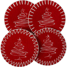 Load image into Gallery viewer, http://images.esellerpro.com/2278/I/122/507/merry-christmas-xmas-festive-drinks-coasters-table-linen-red-white.jpg