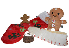 Load image into Gallery viewer, http://images.esellerpro.com/2278/I/134/477/petface-christmas-xmas-festive-dog-puppy-toy-pack-gingerbread-man-stocking-set.JPG