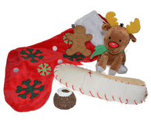 Load image into Gallery viewer, http://images.esellerpro.com/2278/I/134/477/petface-christmas-xmas-festive-dog-puppy-toy-pack-reindeer-stocking-set.JPG