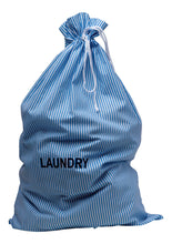 Load image into Gallery viewer, http://images.esellerpro.com/2278/I/153/806/striped-cotton-drawstring-laundry-bag-sack-blue-2.jpg