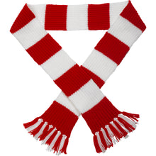 Load image into Gallery viewer, http://images.esellerpro.com/2278/I/113/387/striped-football-sports-scarf-red-white.jpg