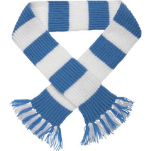 Load image into Gallery viewer, http://images.esellerpro.com/2278/I/113/387/striped-football-sports-scarf-sky-blue-white.jpg