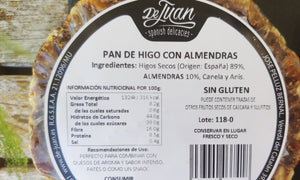 Fig bread with almonds (Unit weighs 200 g)