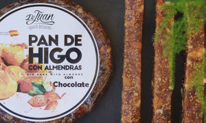 Fig bread with almonds and chocolate (Unit weighs 200 g)