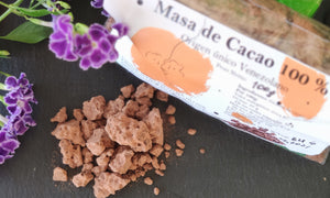Cocoa mass 100%. Not alkalized