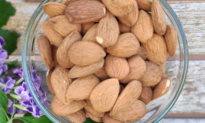 Almonds with skin 200g