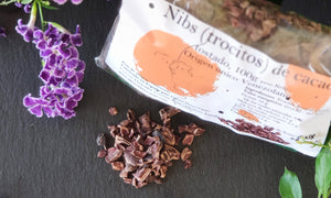 Roasted pieces of cocoa beans (Cocoa Nibs), 100 g
