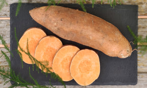 Sweet potato ~ 360g (we will have different sizes)