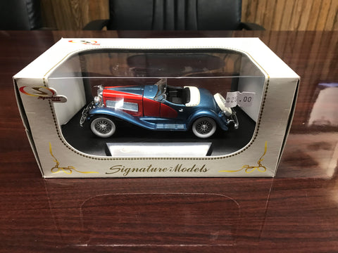 1935 Duesenberg SSJ 1:32 Scale Metal Model
