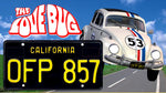 "Herbie The Lovebug<br> ""OFP 857"" </br> Collectible License Plate"