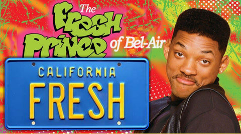 "The Fresh Prince of Bel Air ""FRESH"" <br>Collectible License Plate</br>"