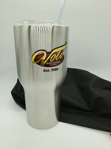 30oz Drink Tumbler Limited Edition 60 Years Volo logo Double wall vacuum insulated